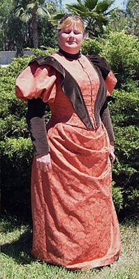Belle Epoche Patterns - 1890's :: 1896 Plain Bodice