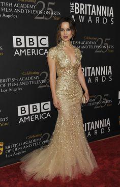 Berenice Marlohe - Elie Saab - Premios Britannia 2012