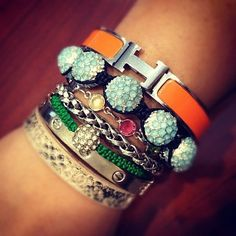 luxe arm candy