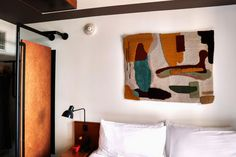 The Ace Hotel Brooklyn, the group's second New York outpost, opens with a programme of newly-commissioned work by local textile artists. Textile Arts Center, Roman And Williams, Ace Hotel, Textile Artists, Fiber Art, Brooklyn, Interior Design, Hotels, Home Decor