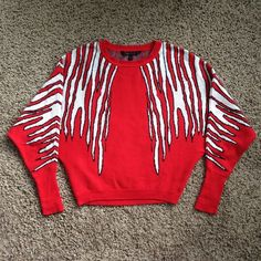 "BCBGMAXAZRIA ""CAMILLE"" Sweater Worn a couple times, still in excellent condition!  Bundles save more!!  No trades.  No holds.  BCBGMaxAzria Sweaters Crew & Scoop Necks"
