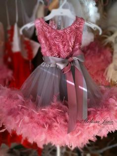 The Original   Classic Fluffy Feather Rosette by sharpsissors, $134.00