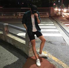 New fashion mens casual summer menswear 15 Ideas Korean Fashion Men, Fashion Mode, Korean Street Fashion, Look Fashion, Men's Fashion, Fashion Trends, Fashion Stores, Cheap Fashion, Fashion Outfits