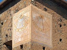 Région de Ponte-Leccia -  Moltifao - Eglise de l'Annunziata cadrans solaires - Moltifao