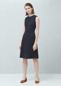 Vestido textura -  Mujer | MNG