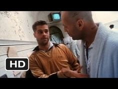 12 MONKEYS, 1995 In a future world devastated by disease, a convict is sent back in time to gather information about the man-made virus that wiped out most of the human population on the planet.