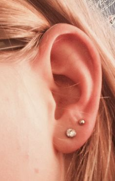 Double pierced ears