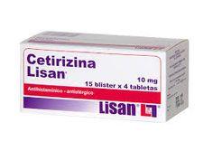 P.A:cetirizina INDICACIONES. antial·lergic