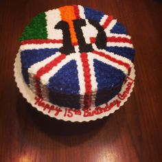 One Direction cake... I WANT, I WANT, I WANT BUT THAT'S CRAZY