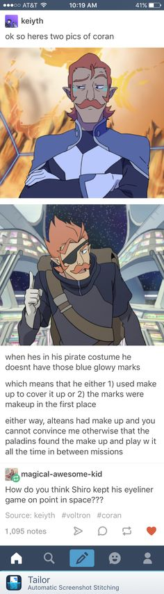 Just watched the Space Mall episode and that is literally the only picture of him without his altean marks