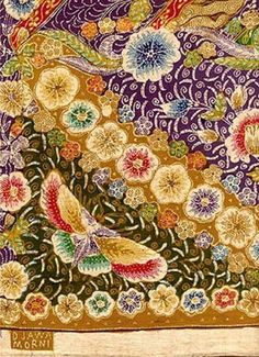 Batik Pekalongan, the colors are lovely. Textiles, Textile Patterns, Textile Design, Textile Art, Fabric Design, Print Patterns, Mehndi, Henna, Batik Art