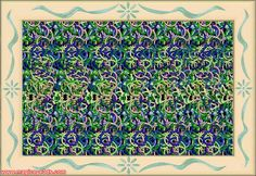 Magic Eye 3D Picture - Here is some cool 3D stereogram pictures - Rings