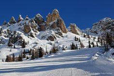 Skiing in Arabba it's amazing!    #Dolomites #Arabba #skiing  www.garnilaura.it