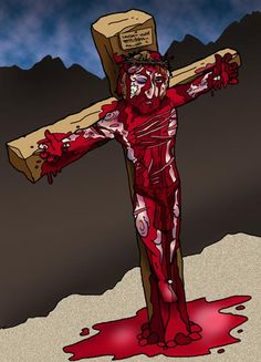 Copyrighted. Crucifixion Jesus crucified  Article about torture about crucifixtion