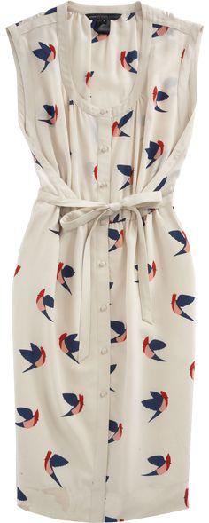 Marc Jacobs bird dress