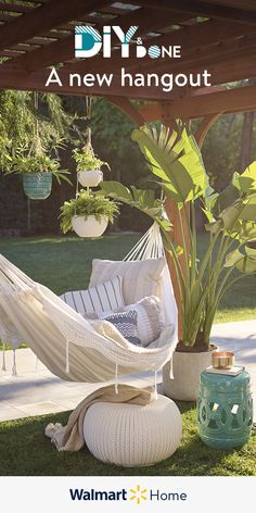 It's easy to give your patio enviable style fast—for less. Shop our lowest prices of the season on all things alfresco—outdoor furniture, decor, & more. Backyard Projects, Backyard Patio, Backyard Landscaping, Outdoor Rooms, Outdoor Living, Outdoor Decor, Outside Living, Back Patio, Diy Home Decor