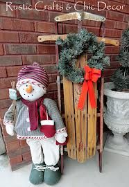 country front porch christmas decor - Google Search