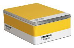 Pantone Schachtel - Seletti Mimosagelb 14-0848