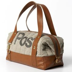 830f9165ada09 I love these bags made from vintage post bags...I ve searched