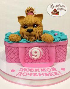 Милый пес ! - Cake by Влада
