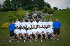 The Mount's men's golf team.