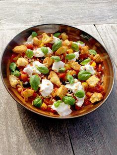 tomatensalade Salsa, Ethnic Recipes, Food, Salads, Eten, Meals, Salsa Music, Diet