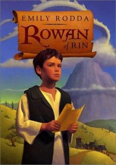 Rowan of Rin by Emily Rodda. Click on the image to place a hold on this item in the Logan Library catalog.