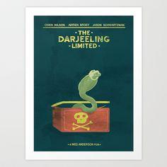the darjeeling limited Art Print by christopher-james robert warrington - $16.50