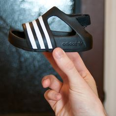 adidas Infant adilette Play - Black with White...$19.99