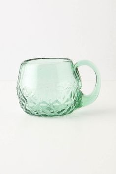 cool old glassware. You can tell by all the bubbles in it.