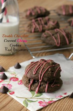 Just in time for the holiday baking season turn a classic candy into a cookie with these Double Chocolate Covered Cherry Cookies!