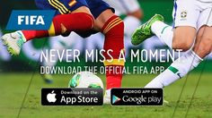 #FIFA is here!! Go Go #Brasil.... #football crazy people we have some free #Mobileapps for you to catch the actions live on your #smartphone
