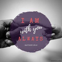 Matthew 28:20   Bible Verses