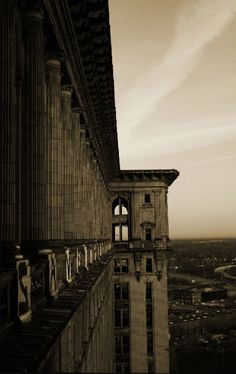 The Detroit Train Station is one of the most beautiful and haunting spaces I know.