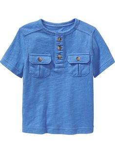 Chest-Pocket Henley for Baby Product Image