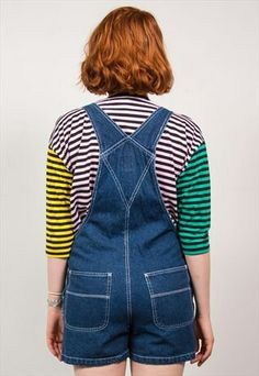 Dungarees, Overalls, Playsuits, Overall Shorts, Rompers, Women, Fashion, Moda, Fashion Styles