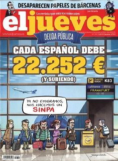 EL JUEVES  nº 1970 (25 febreiro - 3 marzo 2015)