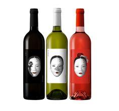 Wine label designs by Eduardo del Fraile