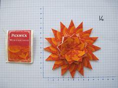 3 laags gemaakt van 32 theezakjes Pickwick thee