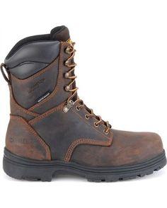 """Men's 8"""" Insulated Waterproof Steel Toe Work Boot"""