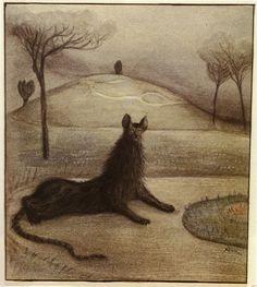 Dream Animal, 1903 -- Alfred Kubin