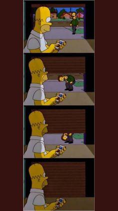 Simpsons Meme, Spongebob Memes, The Simpsons, Best Memes, Funny Memes, Goat Cartoon, Image Fun, Movies Showing, Bart Simpson