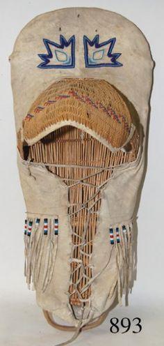 Paiute winter cradle board