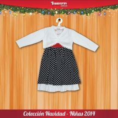 Vestido para niñas de 0 a 10 años.  Síguenos en nuestras redes sociales para más información: https://www.facebook.com/AlmacenesTravesuras y https://twitter.com/travesuras_col
