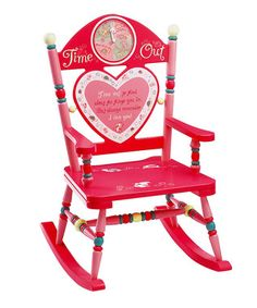 Cute idea. Time out Chair. #Zulily