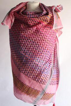 WIH Keffiyehs - Dusky Pink