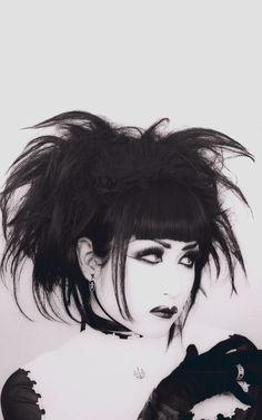 80s Goth, Punk Goth, Goth Hair, Grunge Hair, Visual Kei, Chicas Punk Rock, Goth Subculture, Harajuku, Look Man