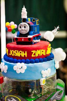Thomas Train Birthday Party via Kara's Party Ideas | Kara'sPartyIdeas.com #thomas #train #birthday #party #supplies #ideas (17)