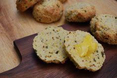 Paleo Chive and Mustard Scones   Easy Paleo Savoury Snacks