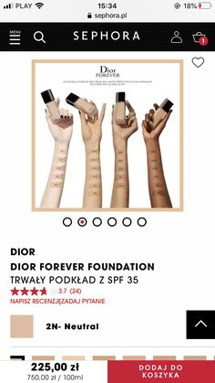 Sephora, Foundation, Forever, Pandora, Foundation Series